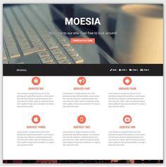 Moesia theme gratuit WordPress responsive