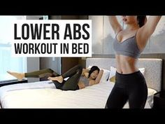 10 min Lower Ab Workout IN BED to Burn Belly Fat! 10 min Lower Ab Workout IN BED to Burn Belly Fat! More from my site Lower Ab Exercises – Workout for Women Ab workout for women Ab Workout In Bed, Lower Belly Workout, Abs Workout Video, Six Pack Abs Workout, Lower Belly Fat, Lower Ab Workouts, Abs Workout For Women, Lower Abs, Burn Belly Fat
