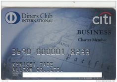 Diners club  cards | citi Business Charter Member