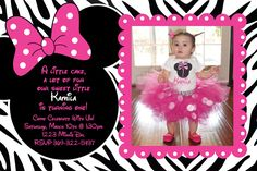 Minnie Mouse Themed Invitation Is Very Easy To Find In Stores Or Online Addition Birthday