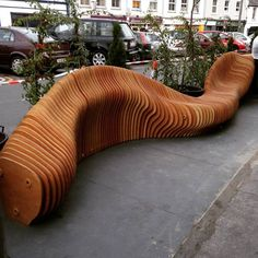 The Best Student Design-Build Projects Worldwide 2016,Woodquay Public Parklet (University of Limerick). Image Courtesy of Hottmar Loch