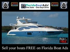Looking for somewhere to sell your yacht in Florida?  Advertise her on Florida's fastest growing marine directory - www.FloridaBoatAds.com