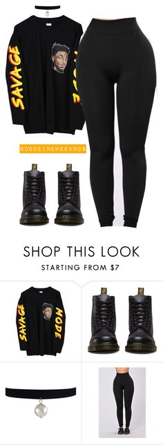"""""""1/12/17"""" by codeineweeknds ❤ liked on Polyvore featuring Dr. Martens"""