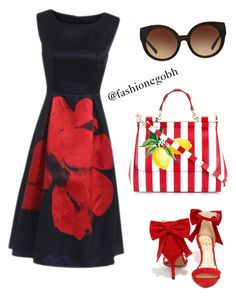 """""""afternoon"""" by lightbird on Polyvore featuring Jessica Simpson, Dolce&Gabbana and Michael Kors"""