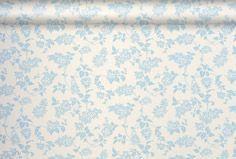 Lilac Floral Cobalt Wallpaper, Laura Ashley