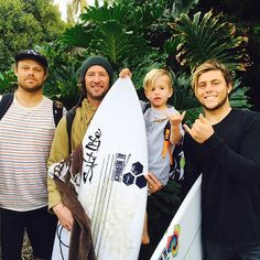 Big shout out to all the competitors who were fortunate enough to surf in the elite @CISURFBOARDS #2016RinconClassic this weekend in Santa Barbara, CA in absolutely pumping surf!  Here we have Dane Reynolds (left) who placed 3rd and was the winner of the #Scosche In #Rhythm award with a combined semi-final heat score of 19.67 out of a possible 20, Scosche Ambassador rider Timmy Curran (center) placed 4th and Connor Coffin (right) was the winner of the 2016 Rincon Classic pro division two…