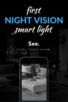 When this new smart bulb turns off, its night vision turns on. This helps your security cameras see in the dark and keeps your home safe. How cool is that?