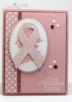 Stampin' Up! Ribbon of Courage Cardiology by Jari