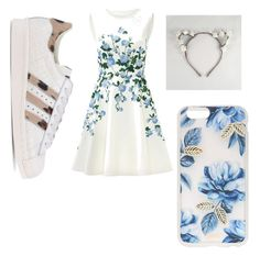 """""""Flower🌺"""" by ariba95 ❤ liked on Polyvore featuring ERIN Erin Fetherston, adidas Originals and Sonix"""