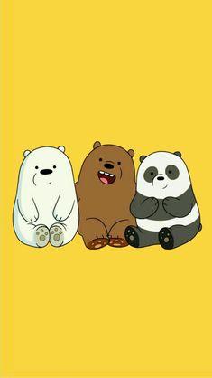 Cute Panda Wallpaper, Cartoon Wallpaper Iphone, Bear Wallpaper, Cute Disney Wallpaper, Kawaii Wallpaper, Cute Wallpaper Backgrounds, Galaxy Wallpaper, We Bare Bears Wallpapers, Panda Wallpapers