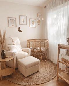 Baby Bedroom, Baby Boy Rooms, Baby Room Decor, Nursery Room, Beige Nursery, Nursery Sets, Nursing Chair, Baby Room Neutral, Baby Room Design