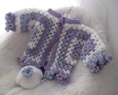Hand Knitted Baby Clothes Girls Crochet by PreciousNewbornKnits, $28.00