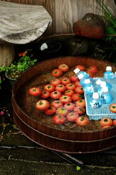 冷やしトマト hiyashi tomato