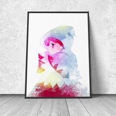 Final Fantasy White Mage Fan Art watercolor illustration by RNDMS Watercolor Illustration, Watercolor Art, Final Fantasy, Living Spaces, Fan Art, Unique Jewelry, Handmade Gifts, Painting, Etsy