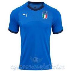 Baratas Camisetas Fútbol 2018 2019 · Casa Camiseta Italia 2018 Azul  equipacionefutbol 8e992f224213e