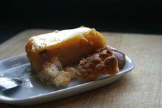 Sabor en cristal: Tarta de mango.
