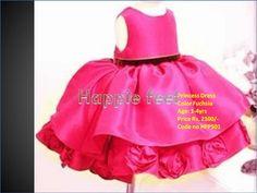 Stylish Princess dress To shop, go to www.happiefeet.in