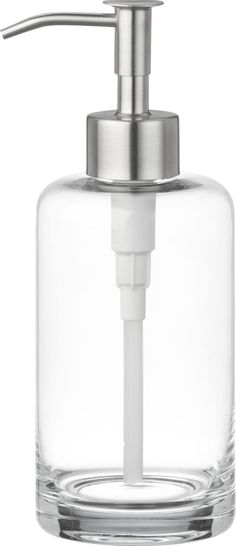 Silver Gl Soap Dispenser