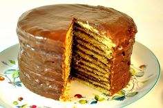 Southern Chocolate Layer Cake...My Grandma was the BEST ever at making this cake...she didn't even have a recipe...This looks very, very close to hers...Can't wait to try it and see :)