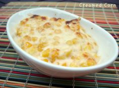 Summit House Classic Creamed Corn Au Gratin. Photo by dudleyfamily5