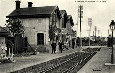 NANTES - La gare de Doulon Pose, Twitter, Transportation, Images, Vintage, Antique Post Cards, Nantes, History, Brittany
