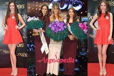 Miss Slovensko 2015 Winners Lujza Straková, Barbora Bakošová, Petra Denková