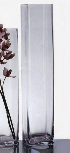Orrefors Mirror Large Vase 95 Swedish Glassworks Handmade