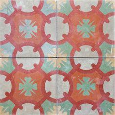 Antique Encaustic Tile
