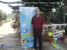 Holiday Beats @ Sterling Holidays: Mr. Pai from Mumbai sings his favourite holiday number for us at the Sterling Holidays Madhura in Yelagiri.