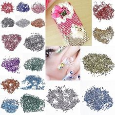 2mm Fashion Round Acrylic Flat Bottom Crystal for Decoration #eozy