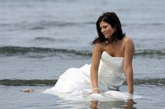 Trash the dress......but at Lake Murray