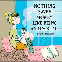 """Sexy sexy alone time.. I love people... but I get """"over-peopled""""  #introvert #bibliophile #lazyday #stayinghome #relax #nopantsday #funny #lol #lolz #humor #giggle #smile #silly #cute #sotrue by merfling01"""