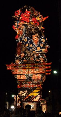 Goshogawara Tachi Neputa Festival, Aomori, Japan