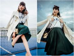 Get this look: http://lb.nu/look/8564535  More looks by Diana Fontes: http://lb.nu/stylishplanner  Items in this look:  Bershka Pleated Skirt, Pull & Bear Swearshirt, Guess Coat, Zara Shoes   #chic #classic #elegant