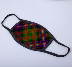 non medical face covering with Cochrane printed tartan - only from ScotClans