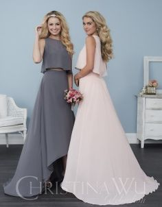 Christina Wu Celebration - Bridesmaid offers versatile dress designs with functional appeal