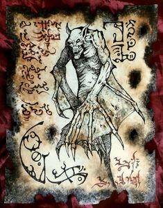 Elder Vampire by MrZarono.deviantart.com on @DeviantArt