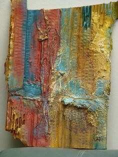 2016 Topic Liquid Sculpting Medium Sharon Brassard Well hello everyone, Darcy here to introduce our latest topic; Mixed Media Collage, Collage Art, Decoupage, Art Gallery, Cardboard Art, Unusual Art, Mural Painting, Paintings, Home And Deco