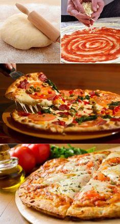 Toasts of tarama - Clean Eating Snacks Greek Recipes, Quick Recipes, Pizza Recipes, Italian Recipes, Healthy Recipes, Soft Pizza Dough Recipe, Dough Pizza, Food Gallery, Clean Eating Snacks