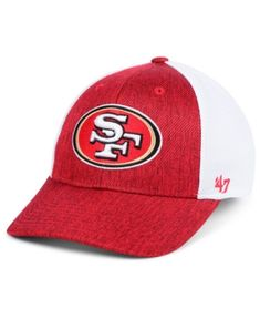 e01f1362a33437 '47 Brand San Francisco 49ers Hazy Flex CONTENDER Stretch Fitted Cap &  Reviews - Sports Fan Shop By Lids - Men - Macy's