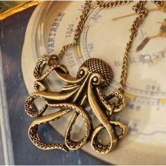 Spotted while shopping on Poshmark: Kraken Necklace! #poshmark #fashion #shopping #style #Jewelry