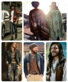 Quirky Bohemian Mama - A Bohemian Mom Blog: Men's Bohemian Fashion for Autumn {men's boho fashion}