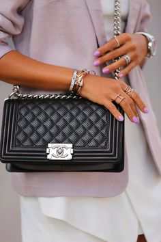 http://vivaluxury.blogspot.com/2014/04/live-in-lavender-chanel-boy-bag-schutz.html chanel boy bag