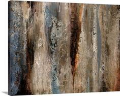 """Sediment Rocks"" Contemporary Abstract Canvas Print by Alexys Henry via @greatbigcanvas available at GreatBIGCanvas.com."