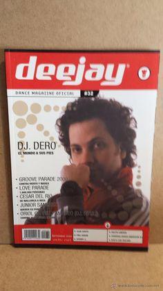 DEEJAY. DANCE MAGAZINE OFICIAL / Nº 32 - SEPTIEMBRE 2000. COMO NUEVA.