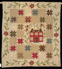 Love the piecing and applique
