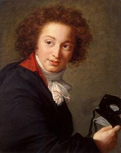 Portrait of Count Grigory Chernyshev with a Mask in His Hand, 1793, by Louise Vigee Le Brun
