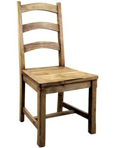 Rustic Pine Dining Chair