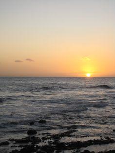 Sunset at Maspalomas, 2009.
