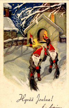 OSCAR FURUHJELM - 106951943635258866150 - Picasa-verkkoalbumit Swedish Christmas, Christmas Elf, Christmas Photos, Elves And Fairies, Forest Friends, Photo Postcards, Leprechaun, Christmas Printables, Goblin
